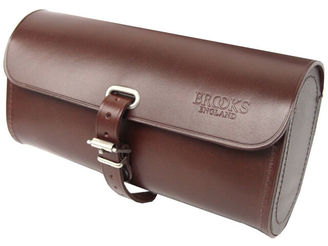 Brooks Challenge Seat Post Bag L brown